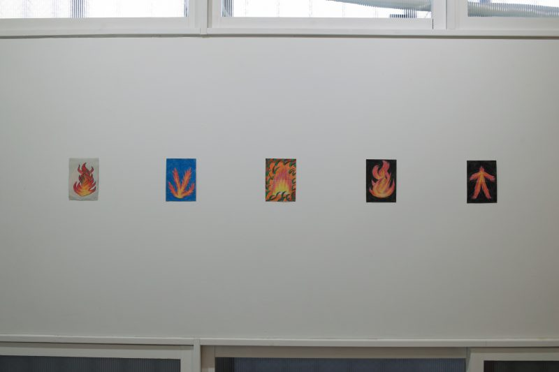 「火」「火」「火」「火」「ファイヤー人間」