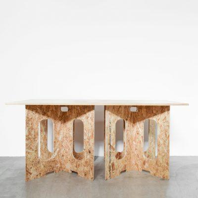 ローテーブル2(天板/大・ナチュラル)
