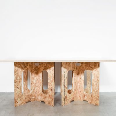ローテーブル2(天板/大・ホワイト)